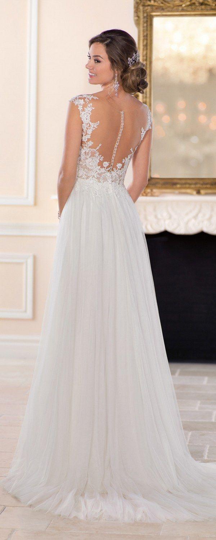 Cream colored vintage wedding dresses  Stella York Wedding Dresses Fall   Stella york Wedding dress