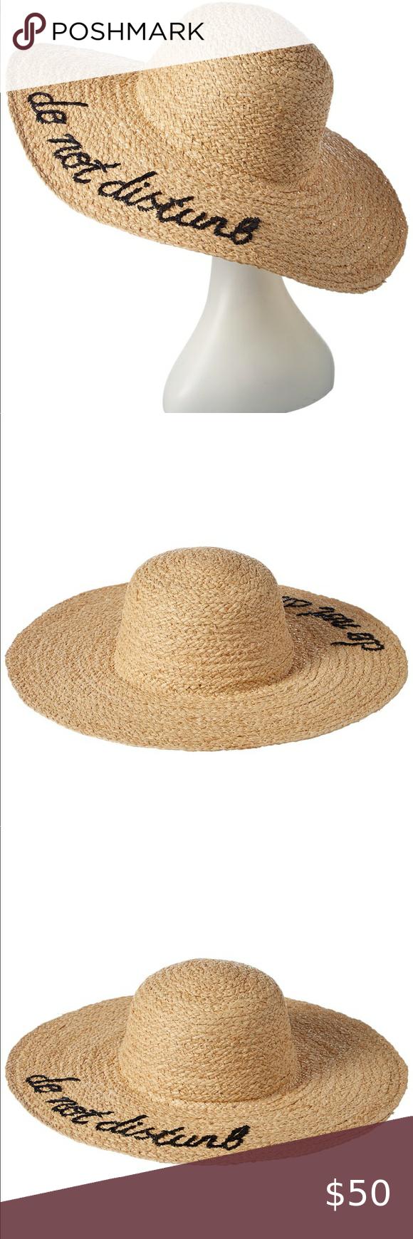 Nwt Hat Attack Raffia Straw Hat Women Accessories Hats Women Accessories Clothes Design
