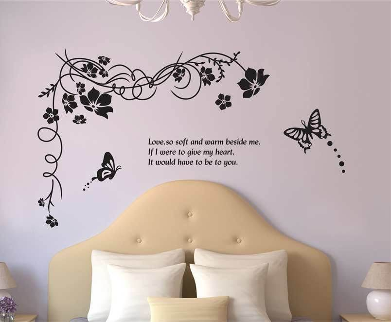 Removable Wall Art Decals | ... Wall-Sticker-Vinyl-Home- & Removable Wall Art Decals | ... Wall-Sticker-Vinyl-Home-Decal-Decor ...