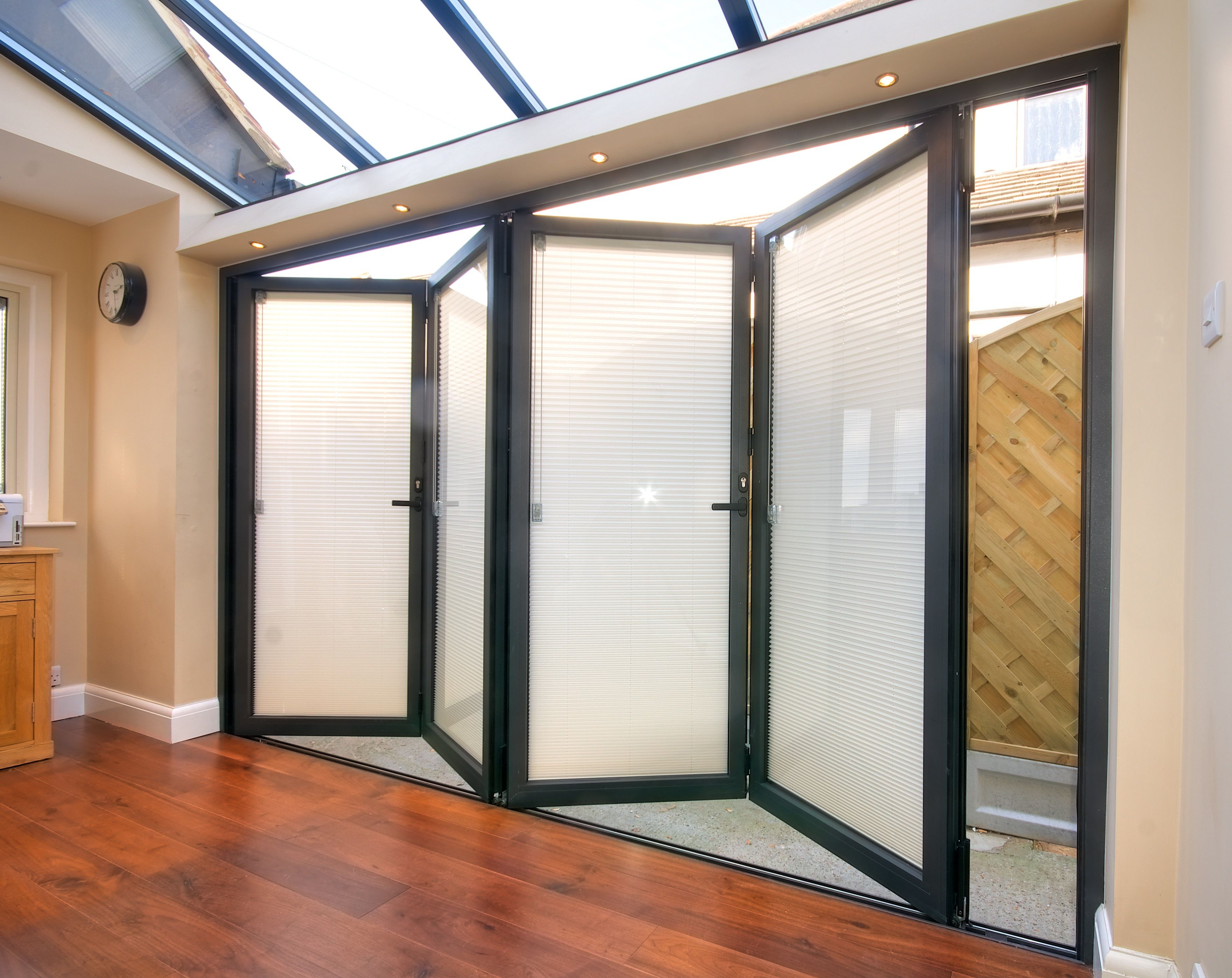 Uni-blind integral blinds are situated inside the double glazed ...