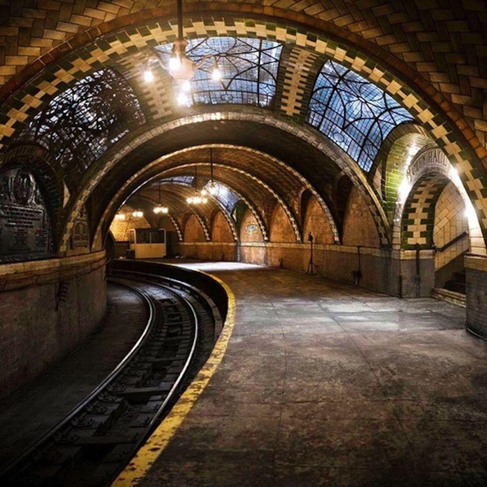 City Hall Station In New York City, NY