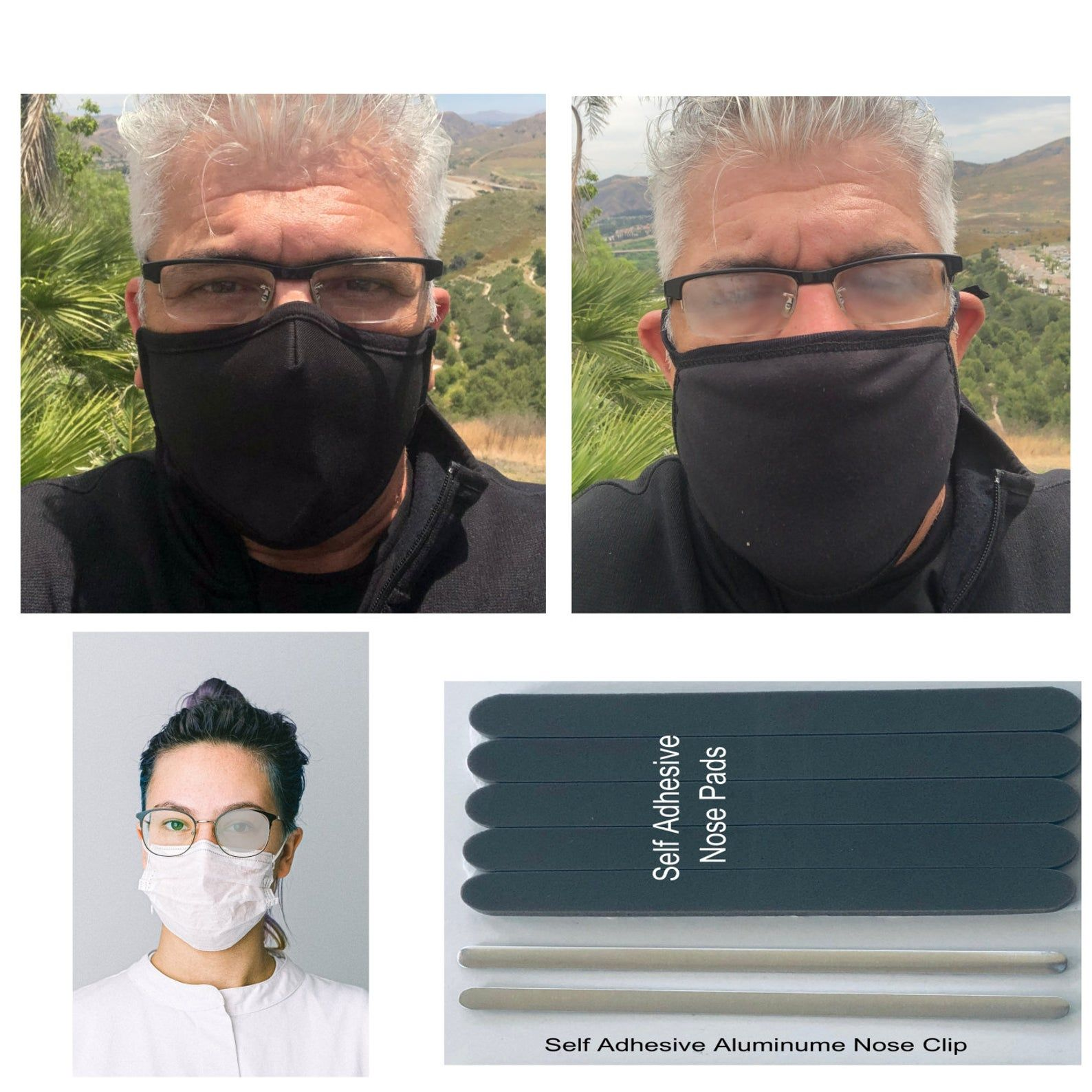 Convert Any Mask to an Anti Fog Mask No more foggy glasses