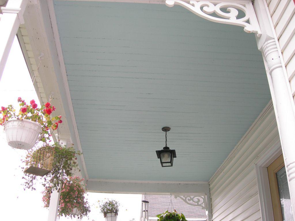 Haint Blue Victorian Porch Ceiling Blue Porch Ceiling Porch Colors Porch Paint