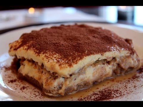Tiramisú sin lactosa (cómo hacer queso mascarpone casero) / Lactose-free Tiramisu