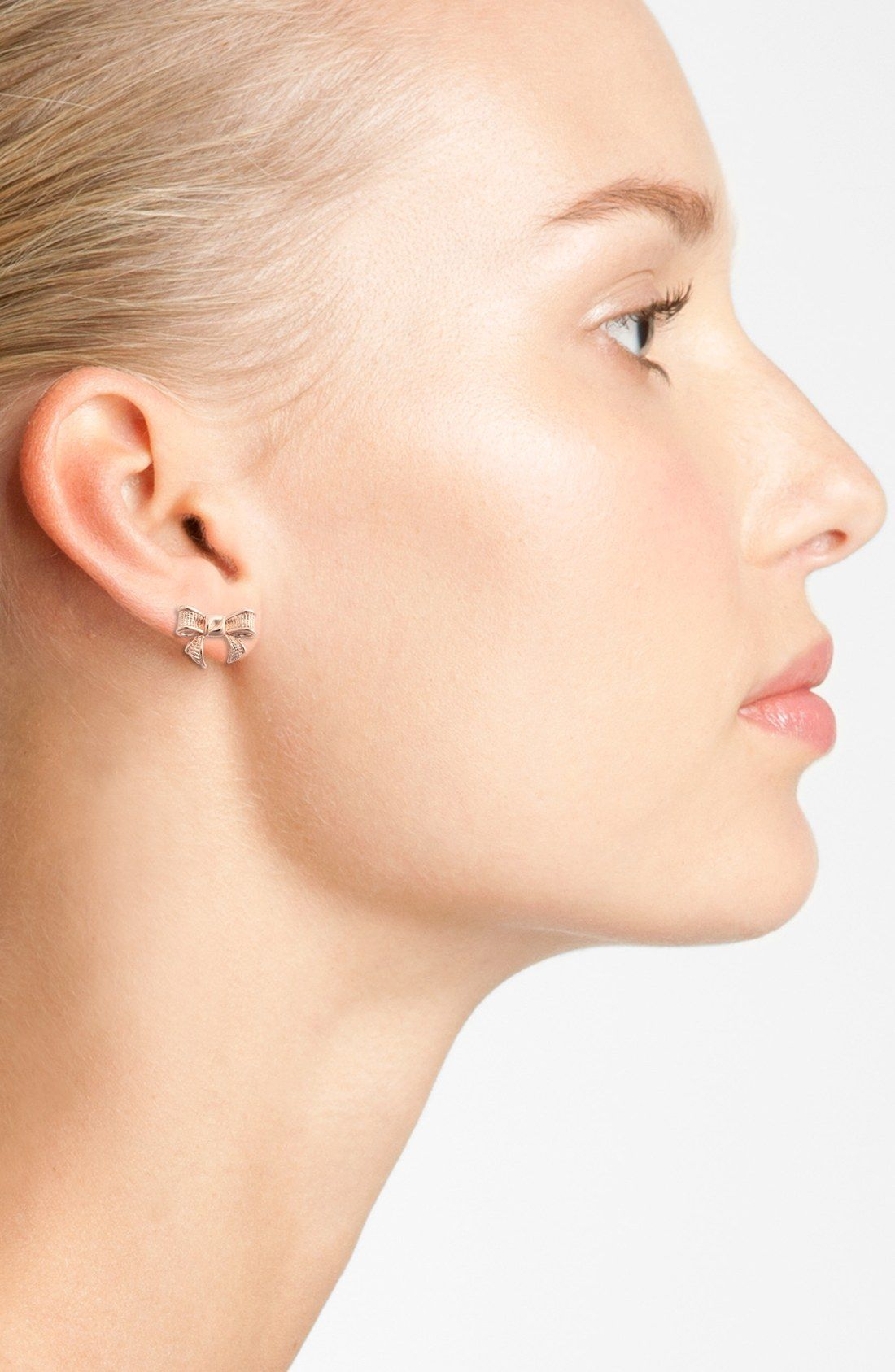fe320be58 I love these - but not sure the plating is enough for my ears Ted Baker  London 'Glori' Bow Stud Earrings