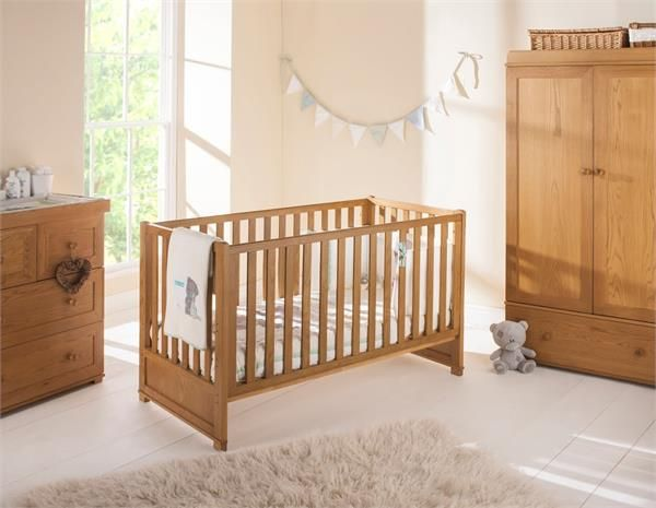 Langham Nuovo Cot Bed From East Coast Nursery A Statement Piece Of Furniture Crafted Solid Oak To Suit Traditional Décor Schemes