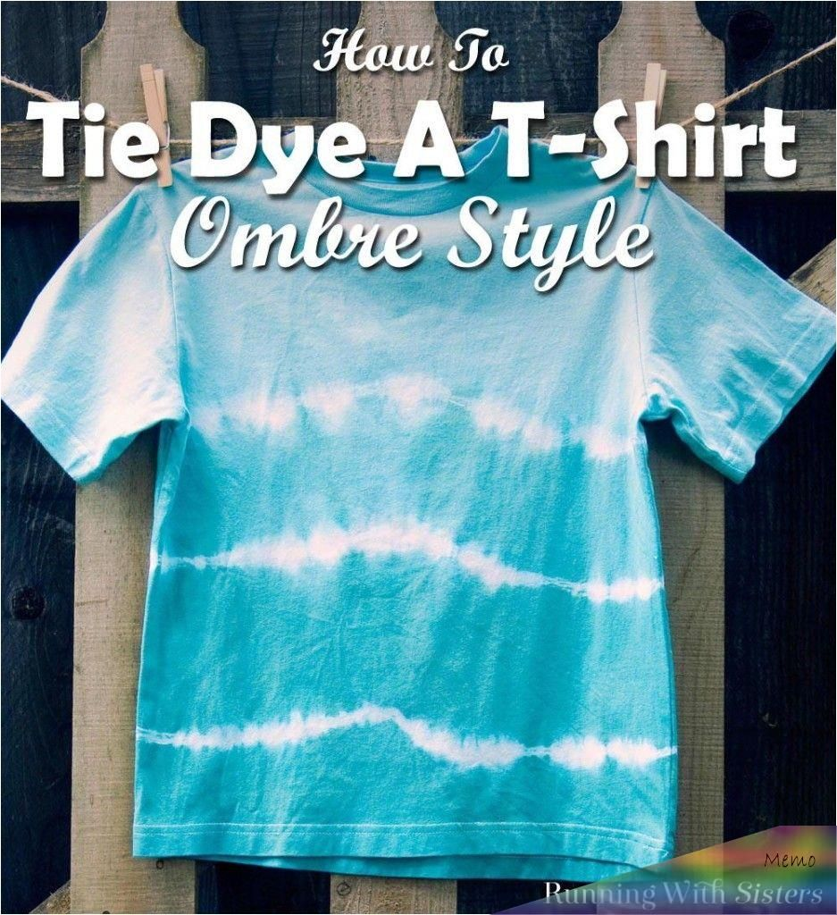 Learn How To Tie Dye A T Shirt With Ombre Colors Going From Dark To Light We Ll Show You How To Tie The In 2020 Diy Tie Dye Shirts Tie Dye Diy Tie [ 1024 x 937 Pixel ]