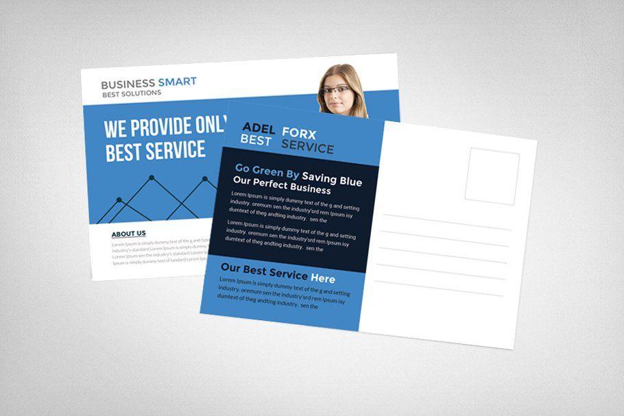 Marketing Business Postcard Template Business Postcards