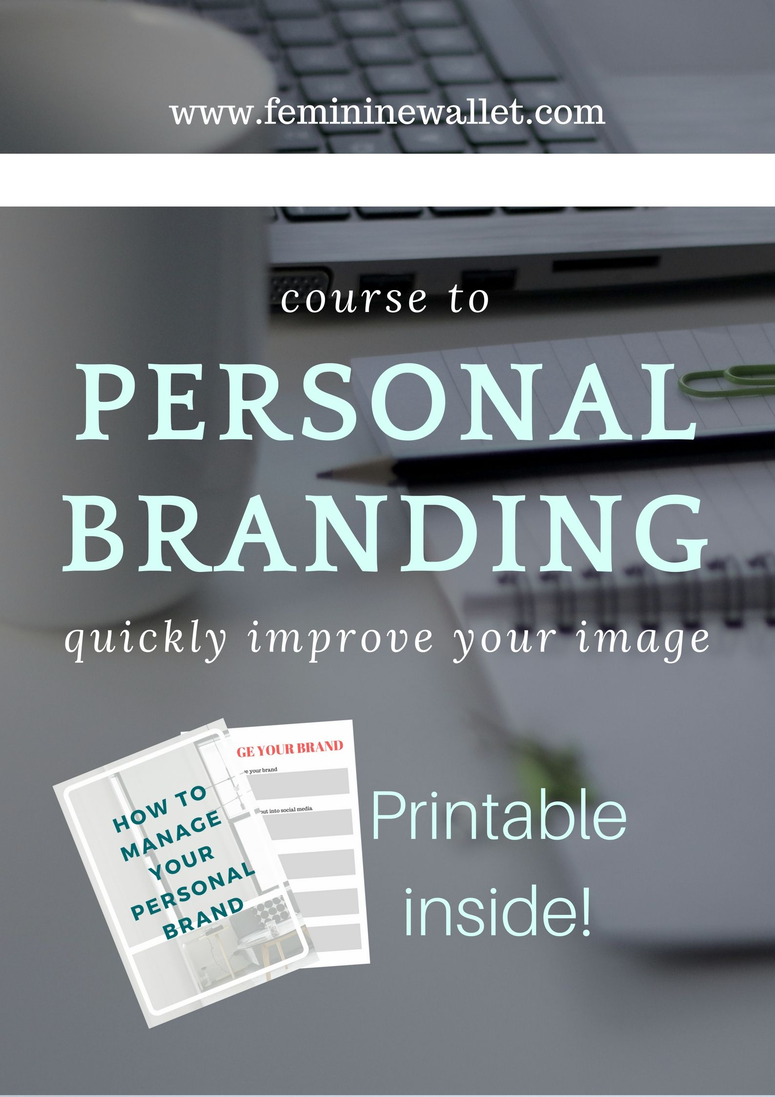 Personal Brand Worksheet Make Your Brand Work For You