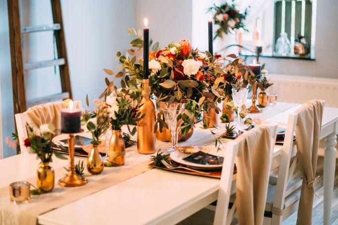 autumn vintage wedding holzwerk kreativatelier kupfer hochzeit in 2019. Black Bedroom Furniture Sets. Home Design Ideas