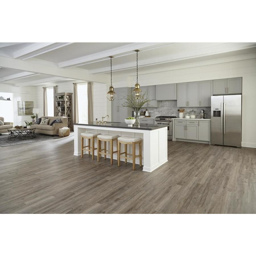 Heirloom Oak Locking Luxury Vinyl Plank Lowes Amp 1 68 Sq