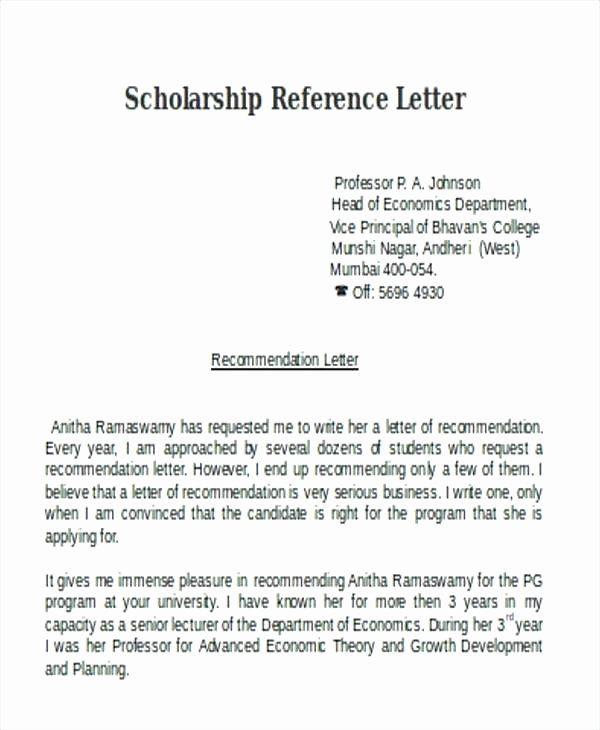 Pastor Letter Of Recommendation Lovely Re Mendation Letter ...