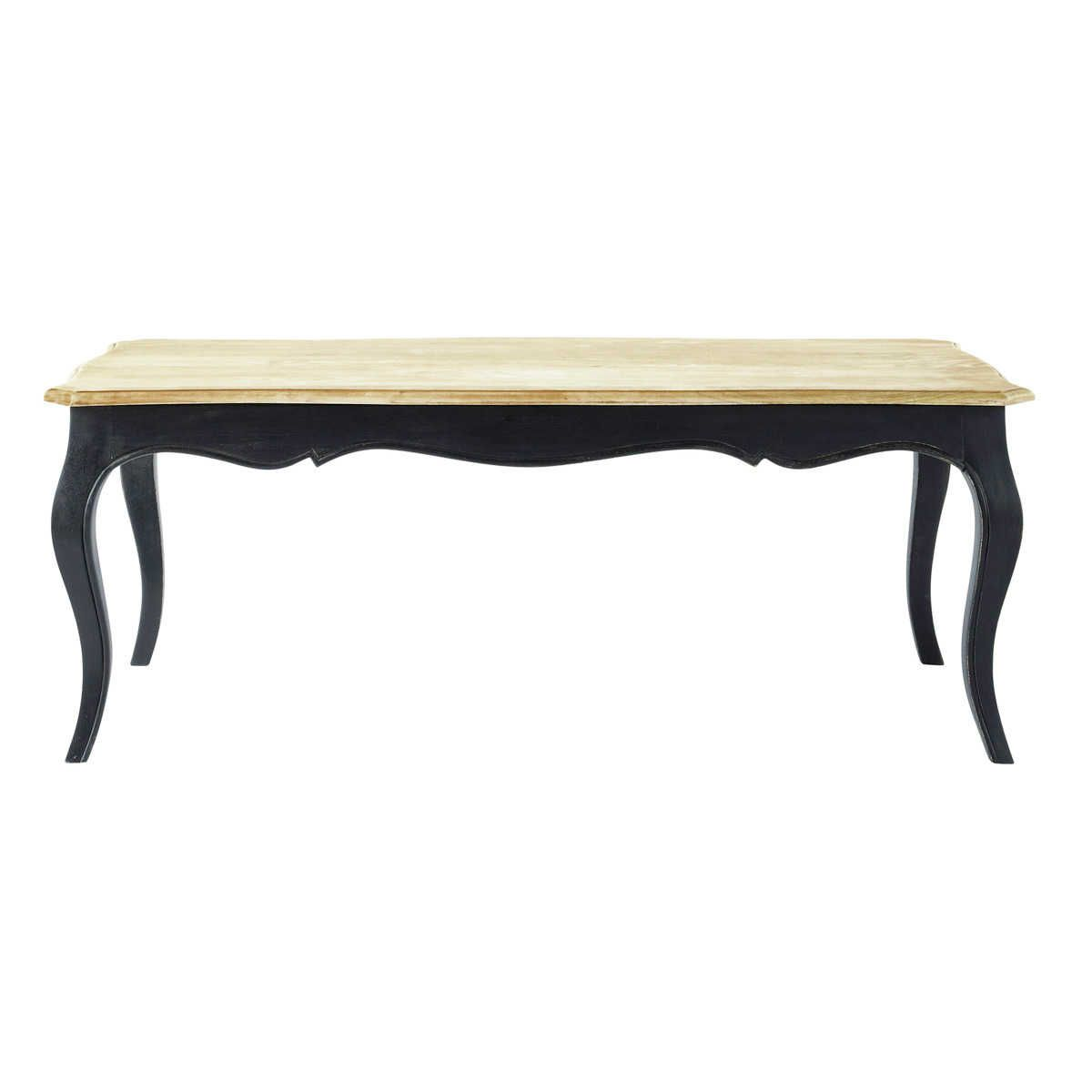 table basse noire classique versailles d co mix and match style colonial pinterest table. Black Bedroom Furniture Sets. Home Design Ideas