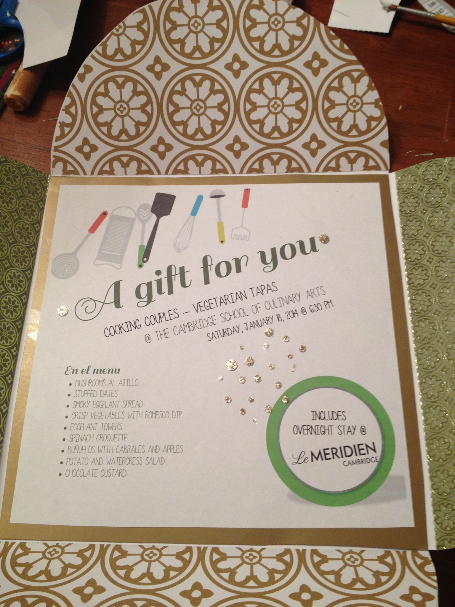 Custom Gift Certificate Design Inquire About This Item And Other