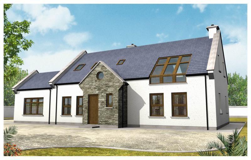 Browse Plans 7 Unusual Design Ideas Modern Irish Bungalow House