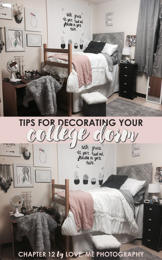 Creative Dorm Room Ideas to Make Your Space More Cozy | Senior Portrait Photographer in Dallas-Fort Worth