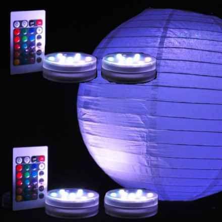 4-pack paper lanterns!