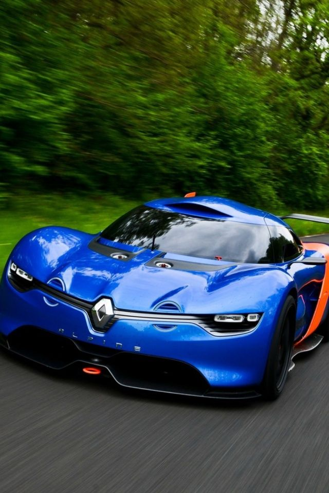 Good Renault Concept Car Mobile Wallpaper   Mobiles Wall