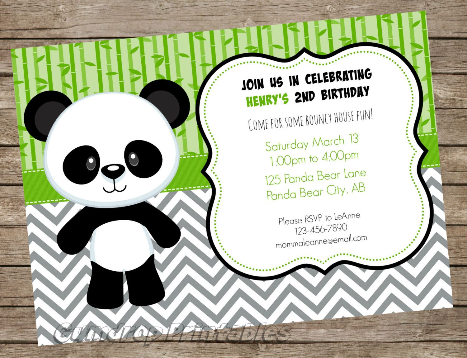 Pin by Is My Crazy Showing? on Panda Party | Pinterest | Boy ...