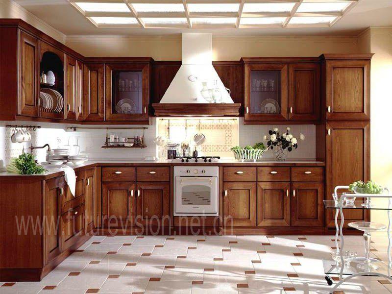 Cuisine En Bois Massif Porte De Cabinet Idees Deco Maison - Meuble de cuisine haut pour idees de deco de cuisine