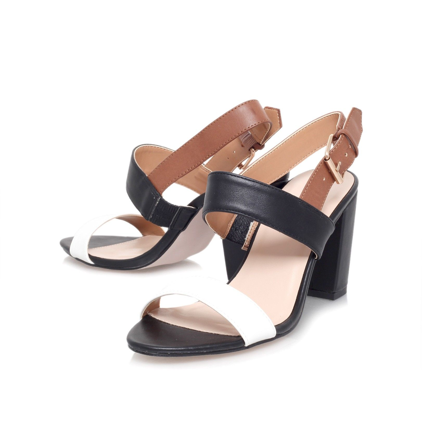 shadow, tan shoe by carvela kurt geiger - women shoes sandals. Mid Heel ...