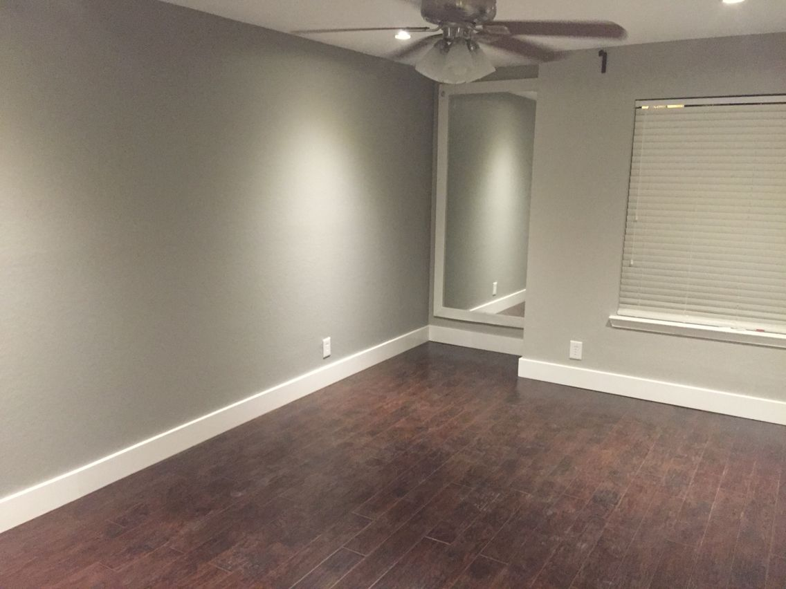 Collonade Gray With Pusswillow Accent Wall Sherwin Williams 2 Perfect Shades Of Gray And
