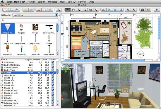 Redesign Your Home Or Office With Sweet Home 3d The Graphic Mac Aplicaciones De Dibujo Decoracion De Unas Casas