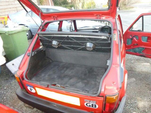 We Have A Boot Fiat 126 Bis Fiat 126 Fiat Classic Design