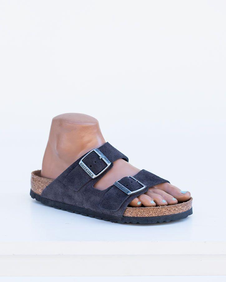 14a435897c90 Arizona Soft Footbed Suede - Velvet Grey