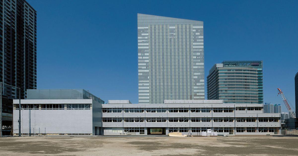 みなとみらい本町小学校 - みかんぐみ | 新建築データ【2020】 | 建築 ...