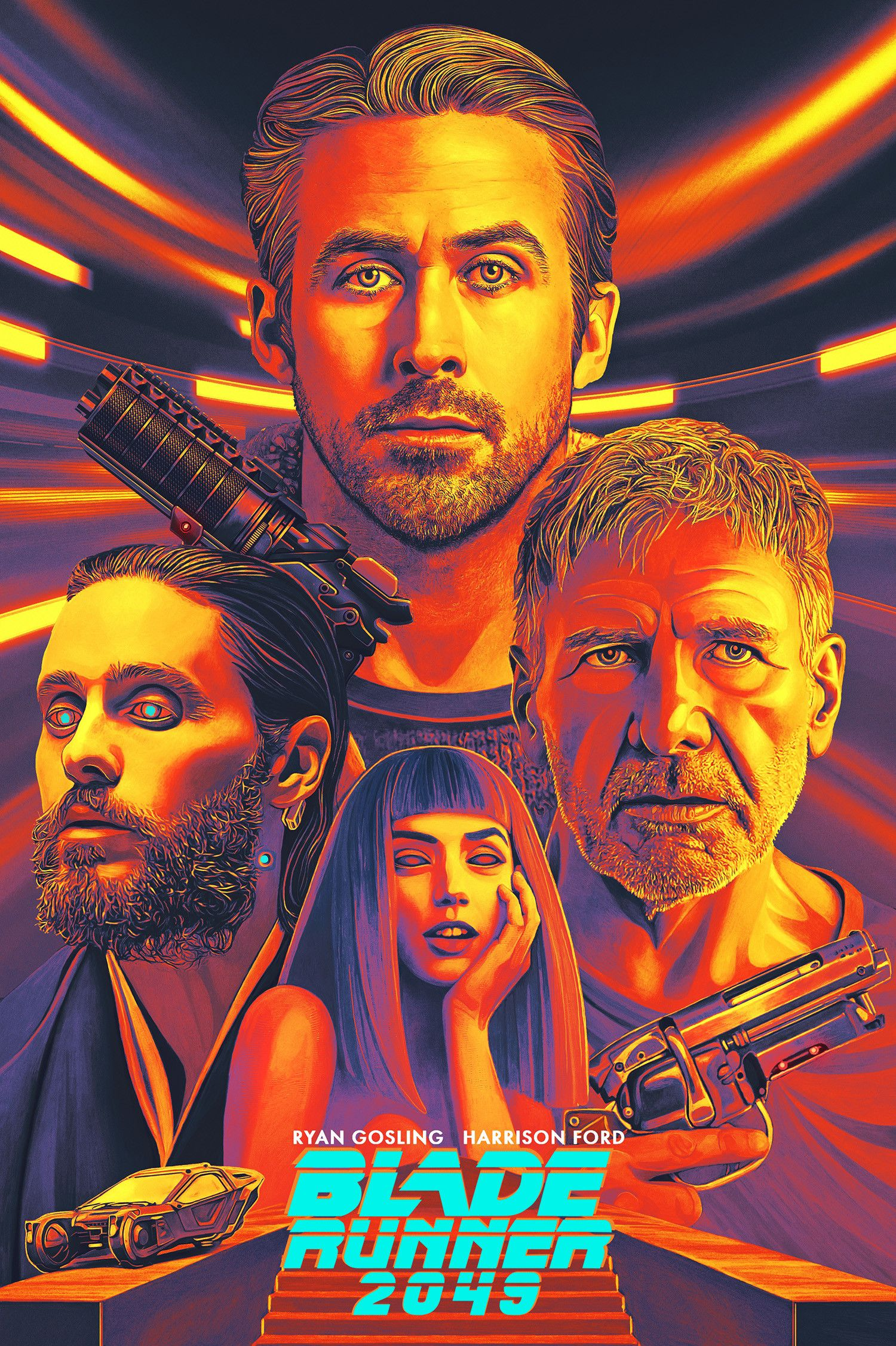 Alternative Blade Runner 2049 Illustration By Nicky Barkla Blade Runner Poster Blade Runner Blade Runner 2049