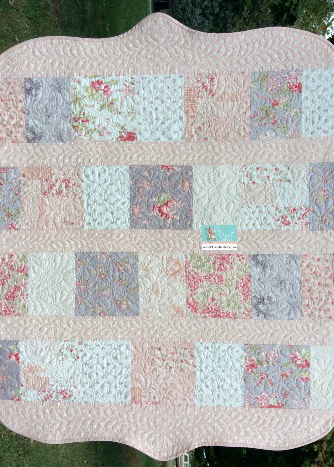Whitewashed Cottage Quilt Kit is available at http://www ... : three sisters quilt shop - Adamdwight.com