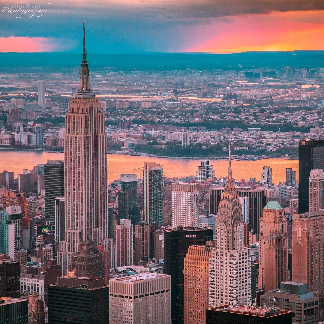 There S Nothing Like Summer In The City Nyc Empirestatebuilding Travel Travelinspo Vacation Pic By Shubha New York City Manhattan Nyc Tourism Ny City