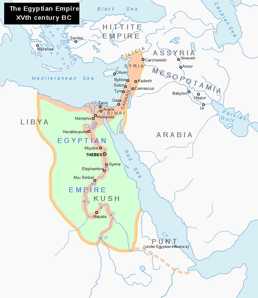 New Kingdom Of Egypt Timeline Major Events Oude - Natural resources in egypt