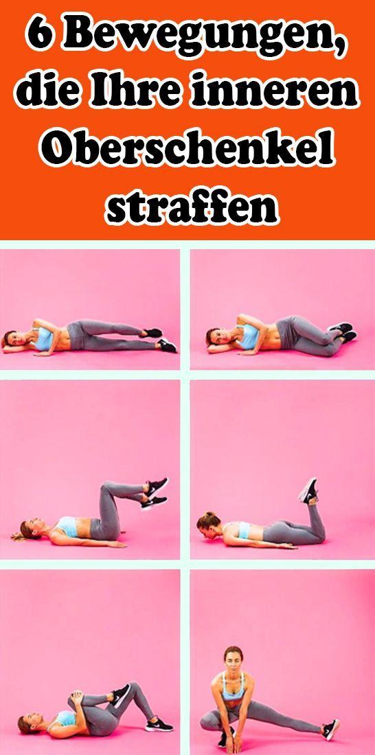 6 Bewegungen, die Ihre inneren Oberschenkel straffen Fitness fitness bodybuilding #Bewegungen, #fitn...