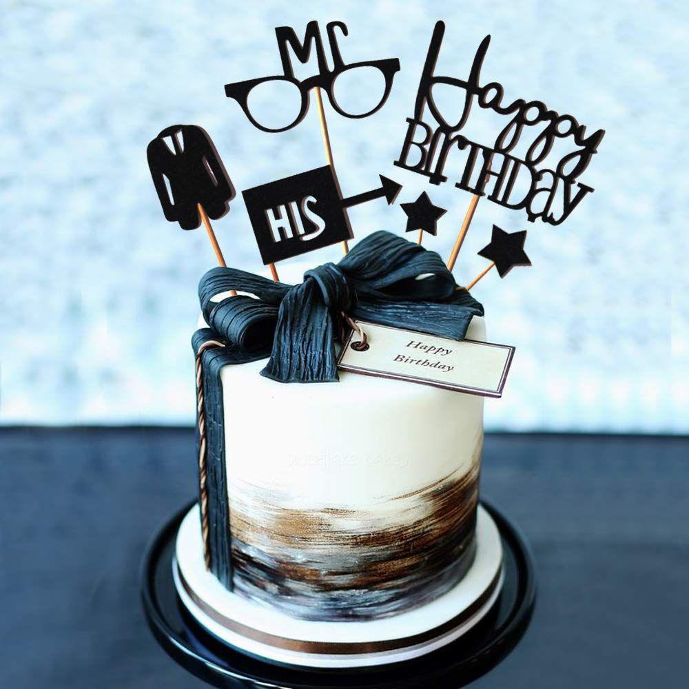 Gentleman Birthday Cake Toppers Birthday Cake For Him Birthday Cake Toppers 60th Birthday Cakes