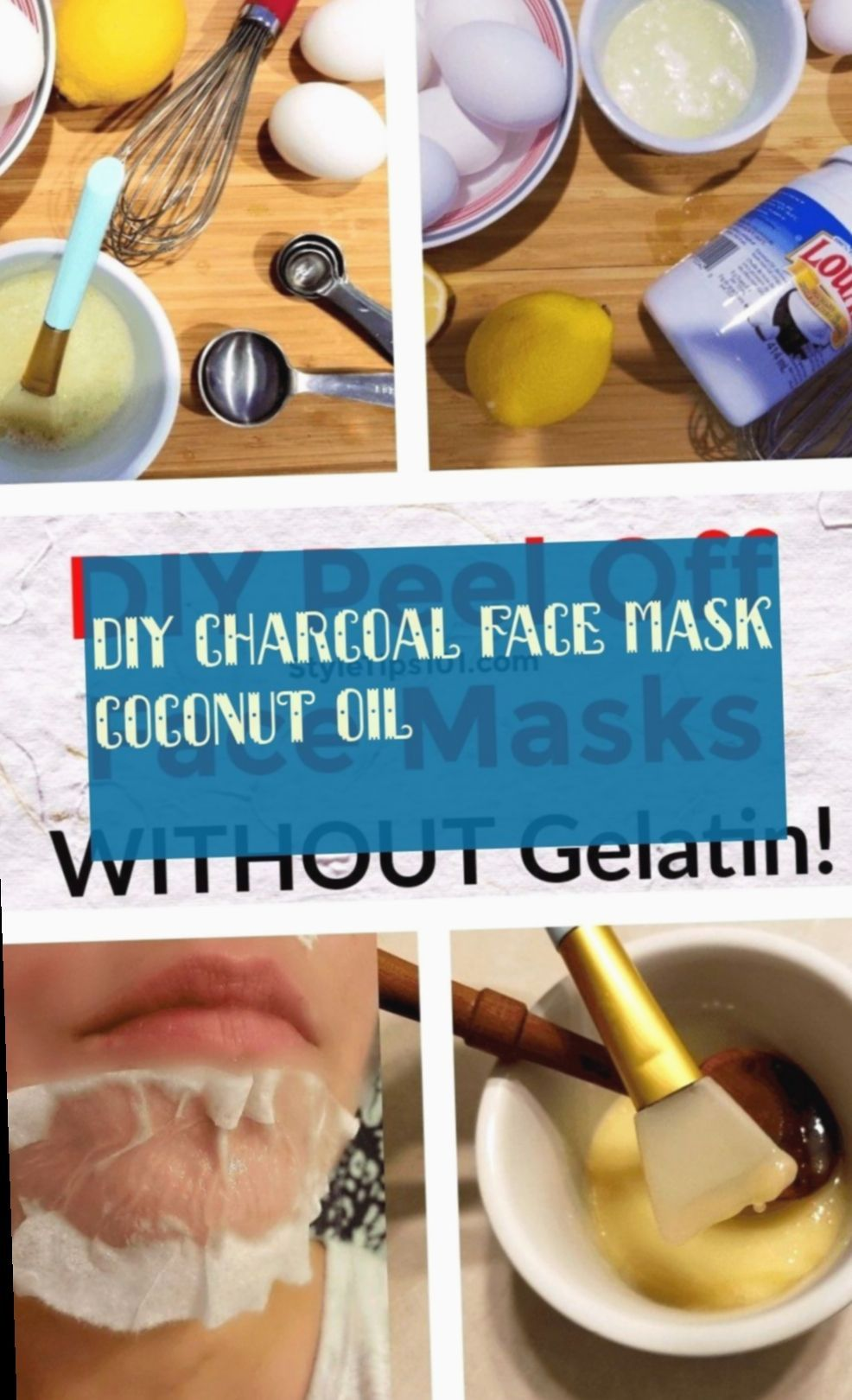 Diy Face Mask Charcoal Coconut Oil  Diy Face Mask Charcoal Coconut Oil