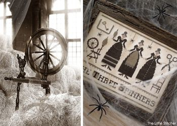 The Little Stitcher: The Three Spinners