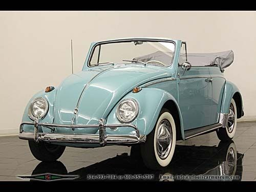Topdown Bug. This is my hubby's dream car, well one if many!