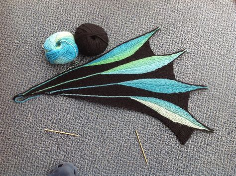 Ravelry: PatB52s Peacock Dreambird in Knitpicks Chroma ...