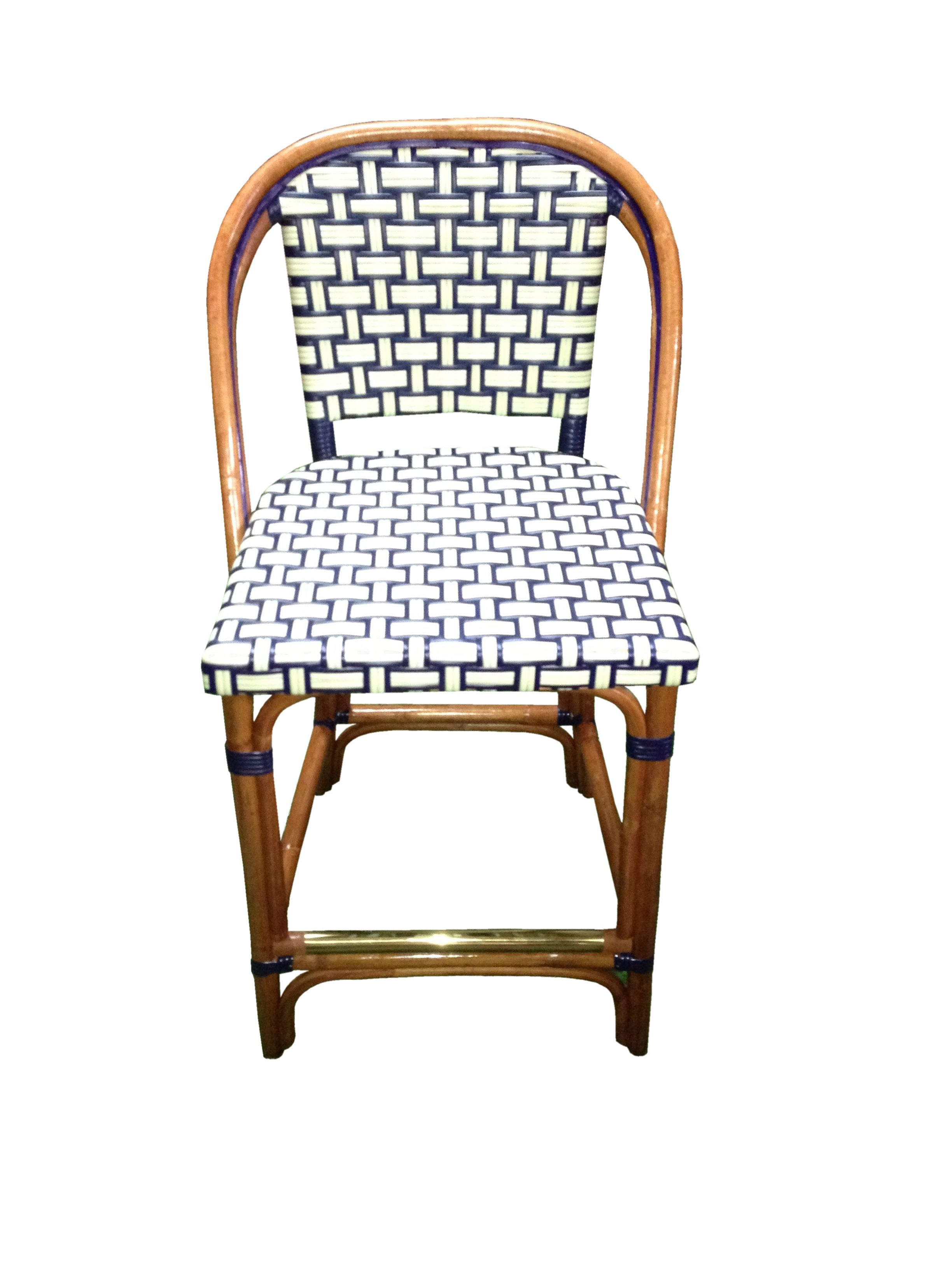 Hk 814 Diablo Ivory Navy Light Honey Bistro Stools Bistro Chairs French Bistro