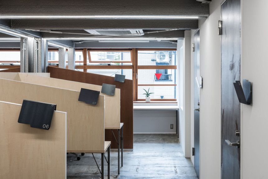 STOCK ShareOffice_15 job シェア オフィス、デザインスタジオ、デザイン