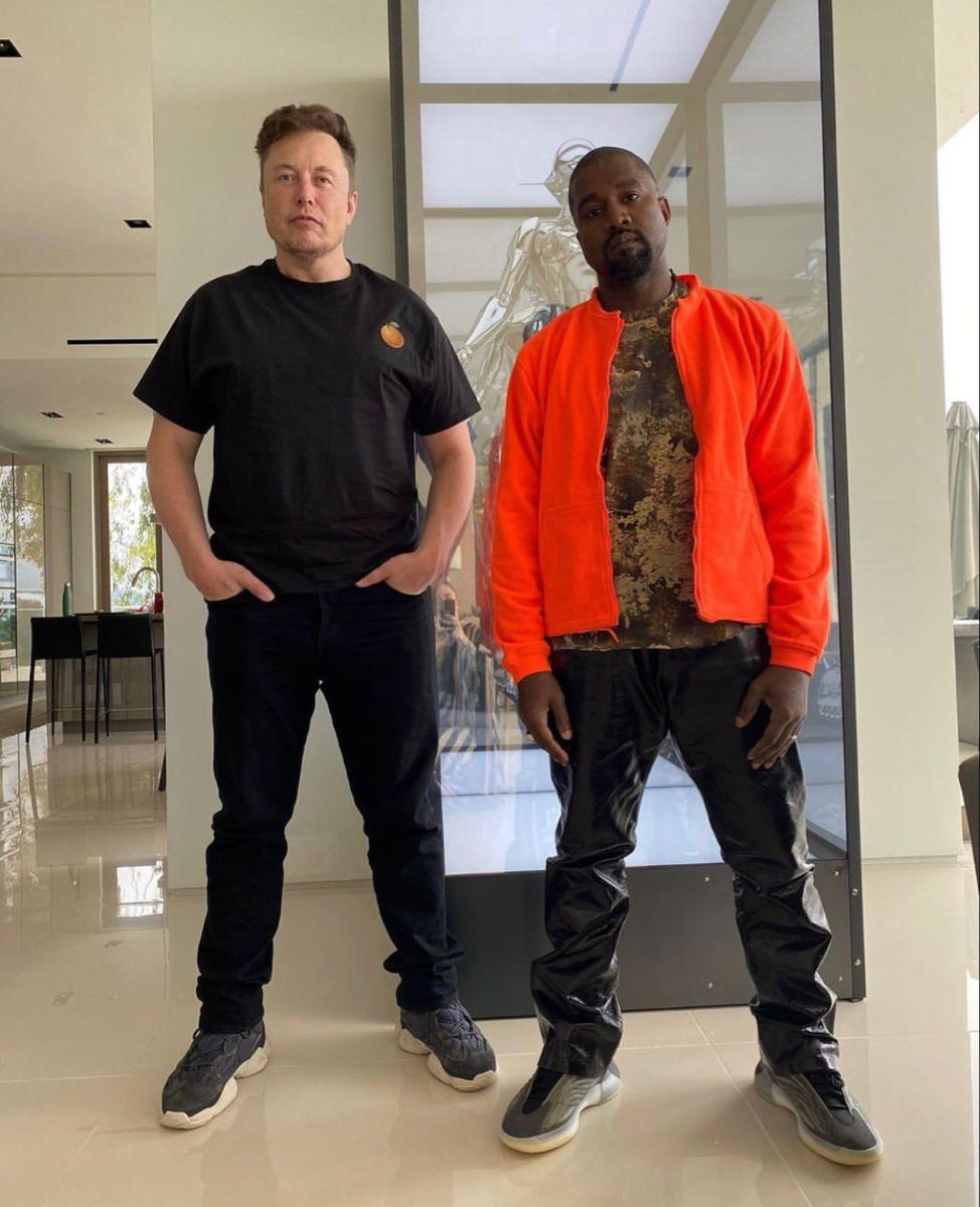 Elonmusk And Kanyewest Citymusichq In 2020 Kanye West Kanye Elon Musk