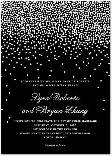 Black And White Invitation Template Best Business Template