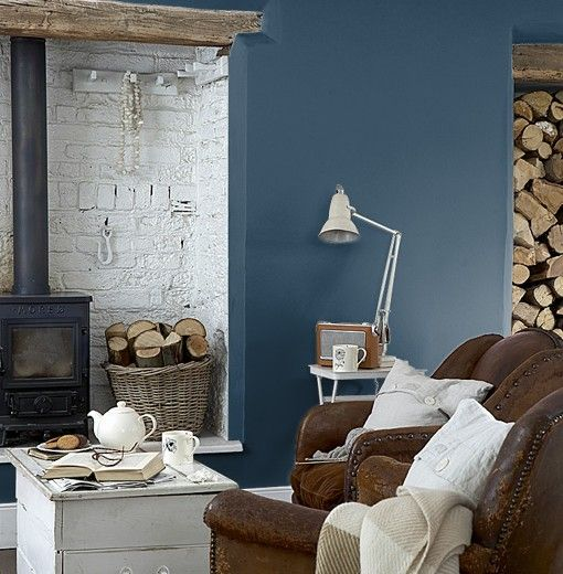 Royal Blue And Brown Living Room royal-navy-257-510x520 (510×520) | room | pinterest | navy