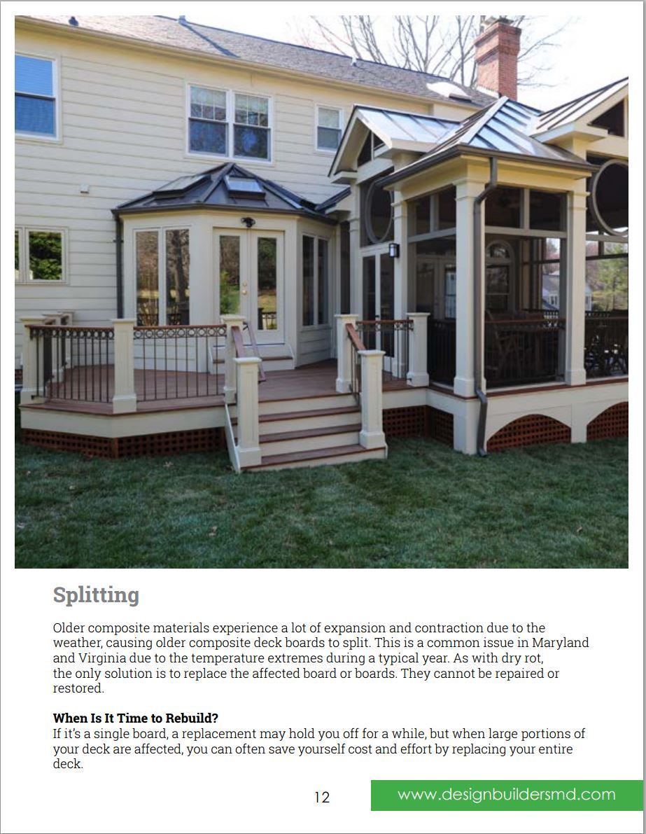 Pin By Design Builders Custom Decks Screened Porches