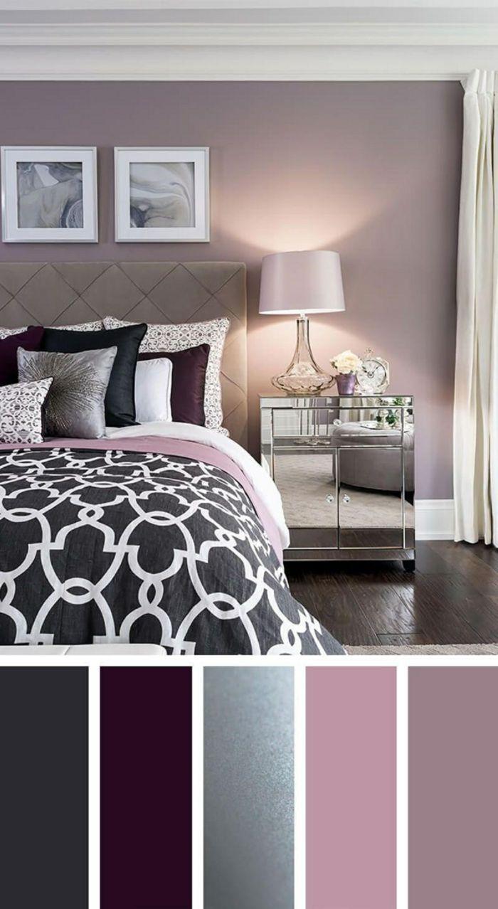 Wandgestaltung Schlafzimmer Farben 2020