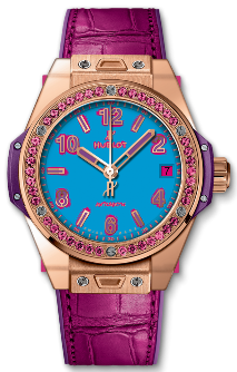 Hublot Big Bang One Click Pop Art King Gold Rose