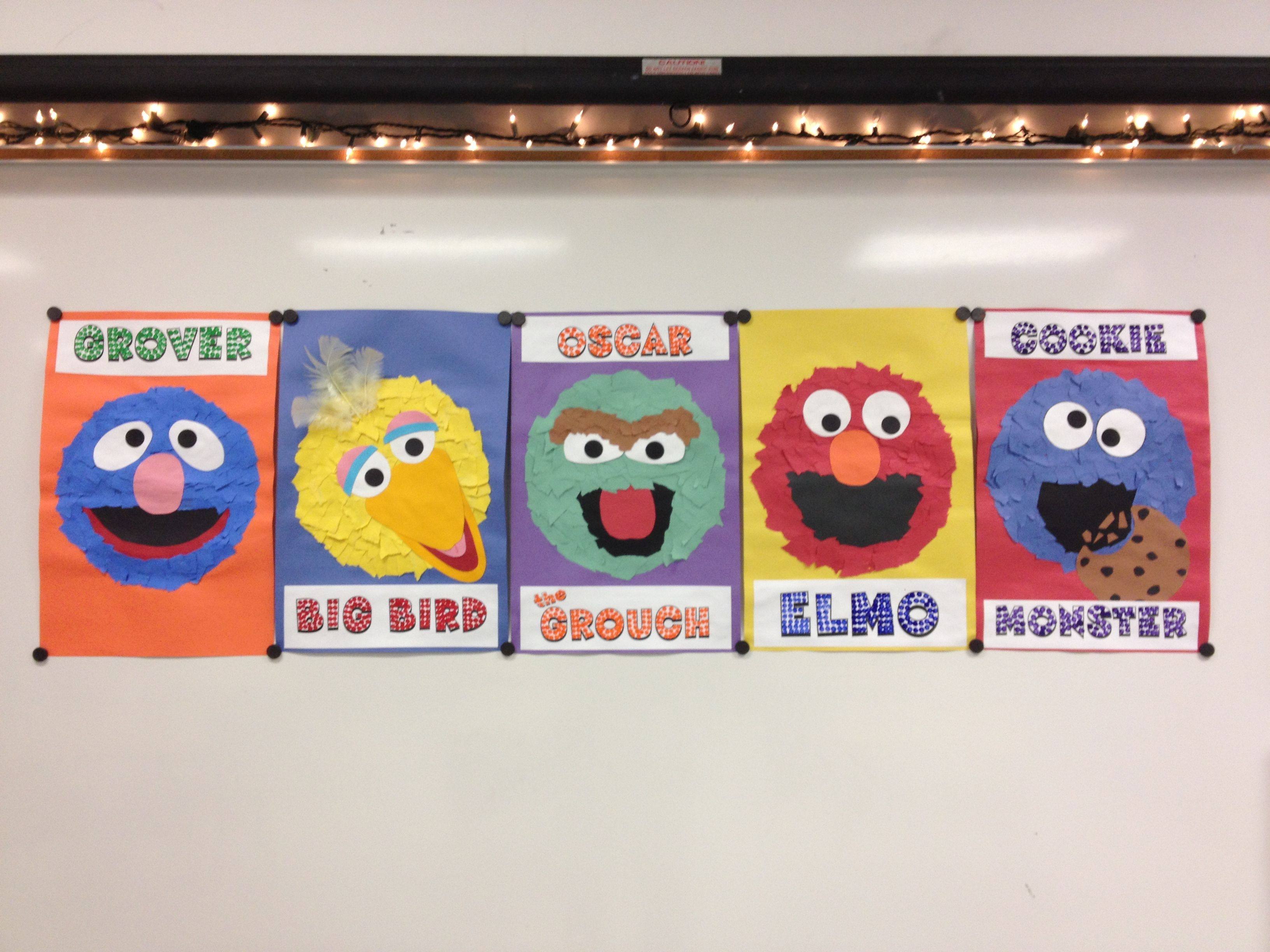 Sesame Street Pop Art