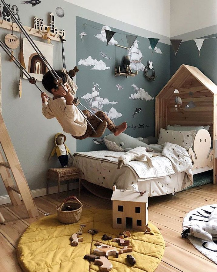 Instagram Find: Viktoria's Awe-Inspiring Kids Rooms Filled With Pretty Design - Nordic Design